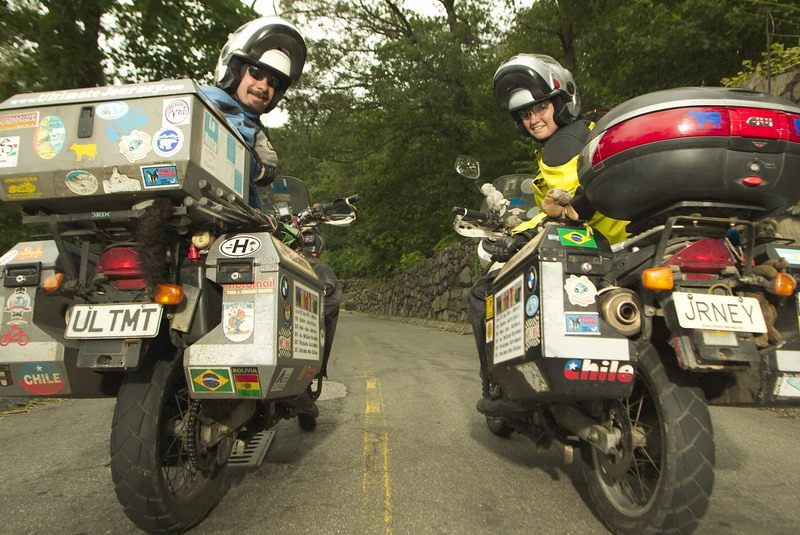 Around the World Adventure on Two Motorcycles