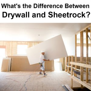 local records office What's the Difference Between Drywall and Sheetrock installation worker drywaller construction dry wall