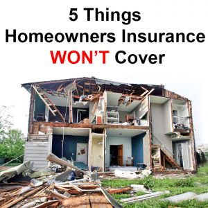 local records office - 5 Things Homeowners Insurance Won't Cover