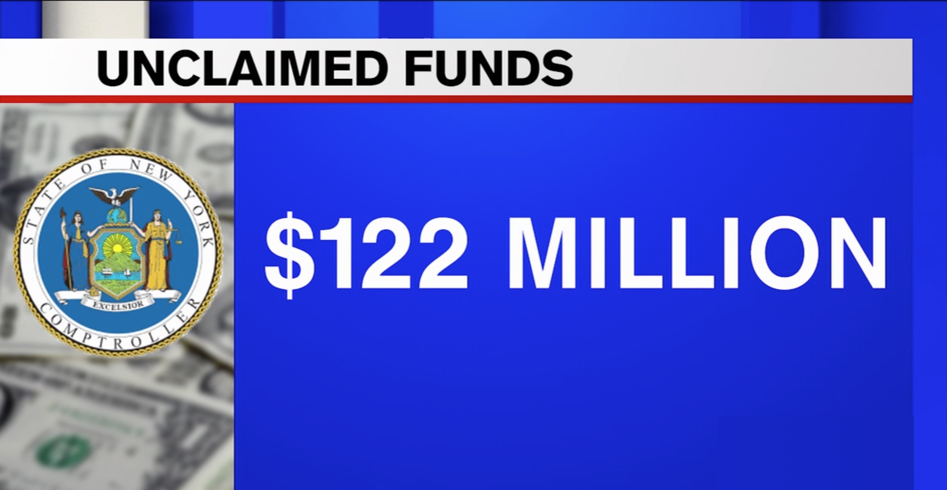 CHECK NOW: New York owes residents millions in unclaimed funds - Local Records Office