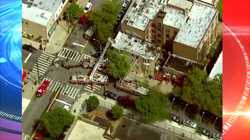 3 people have been seriously injured in Brooklyn apartment building fire