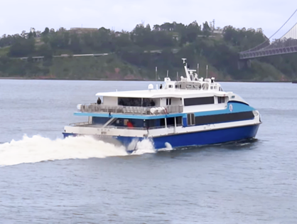 Power outage forced Golden Gate Ferry to change services