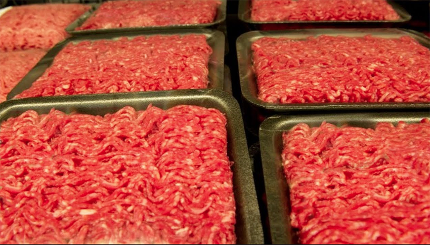 More than 6,400 pounds of meat have been recalled for possible salmonella contamination in San Diego