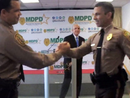 Miami-Dade Mayor Carlos A. Gimenez announced the new top cop for the county