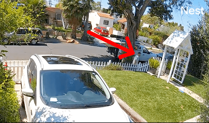 Thief follows Los Angeles delivery driver and steals all packages (VIDEO)